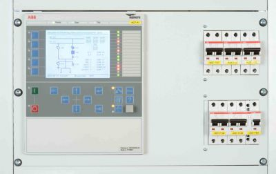 Field control unit in use in a medium-voltage switchgear